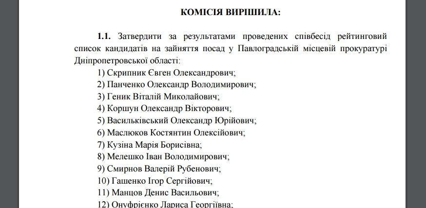 Панченко собеседование