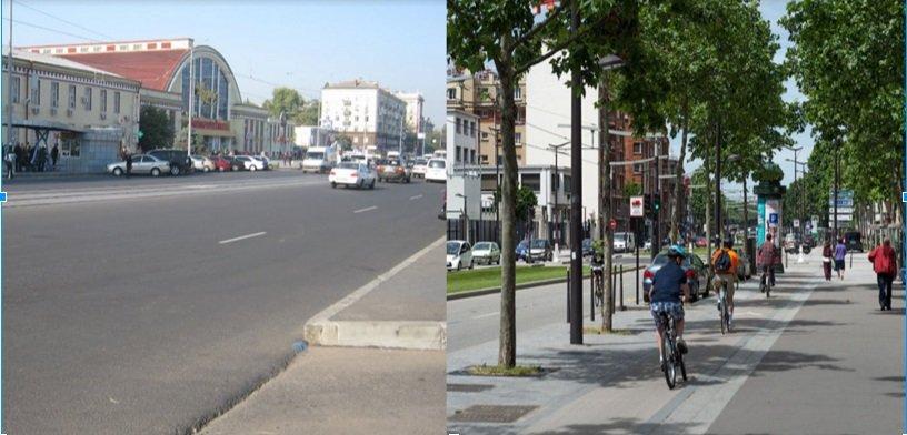 Сравним Днепропетровск и Париж