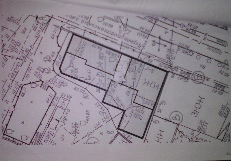 План двора