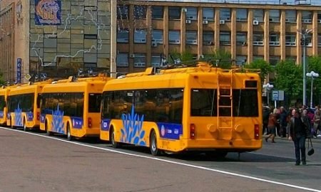 Черкасские троллейбусы