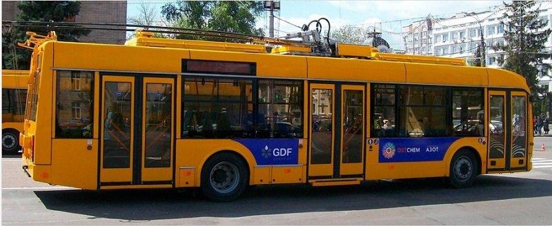 черкасский троллейбус