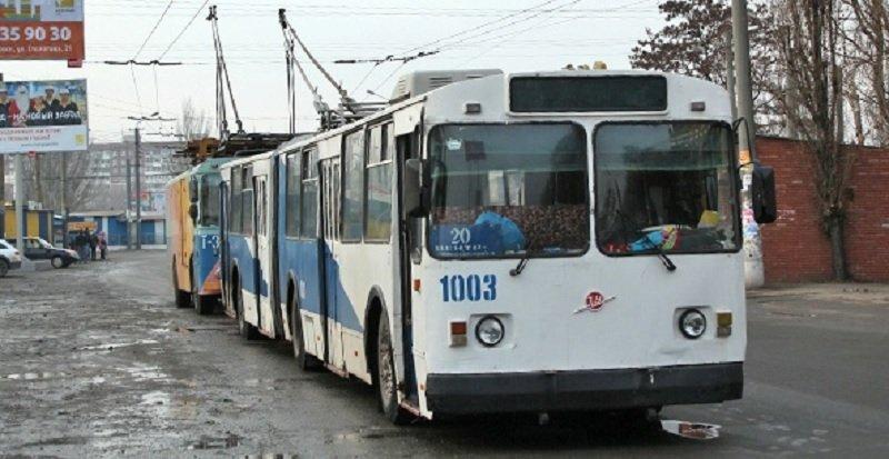 Днепропетровские троллейбусы