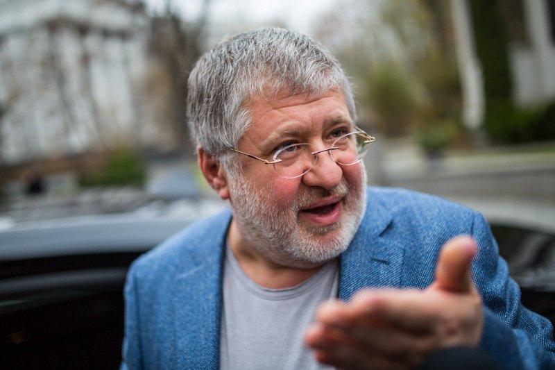 Игорь Коломойский в Днепре