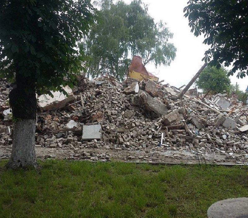 разрушенные мастерские в Днепре