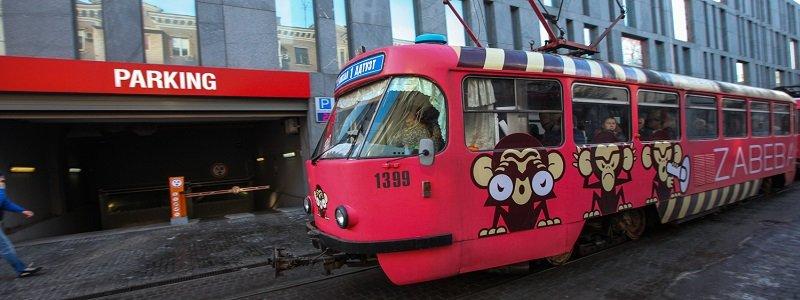 Трамвай Забеба в Депре