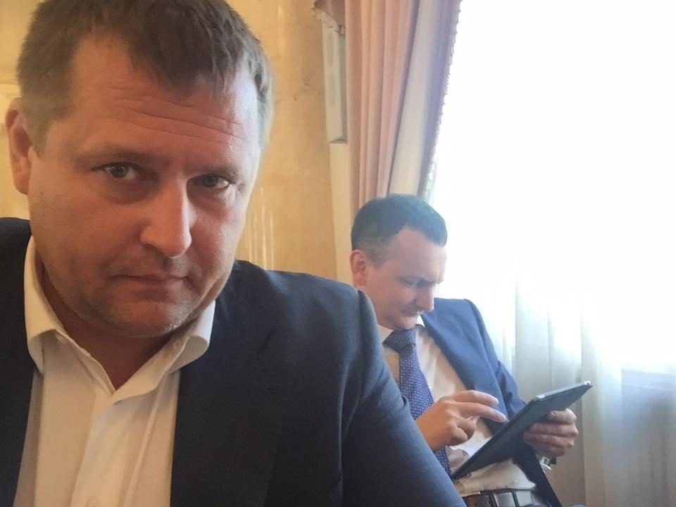 Борис Филатов и Юрий Голик