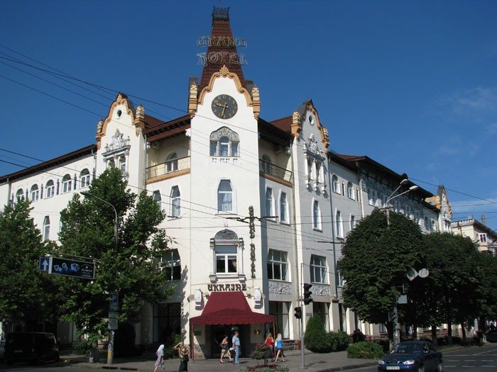гостиница Украина в Днепропетровске