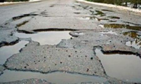 плохие дороги в Днепре