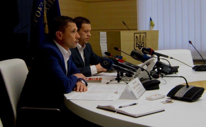 Зампрокурора Днепропетровской области Юрий Черкашин