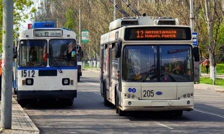 троллейбусы в Днепропетровске