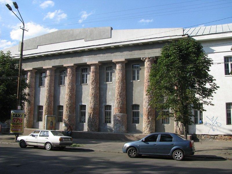 Памятник архетиктуры - хлебозавод в Днепропетровске