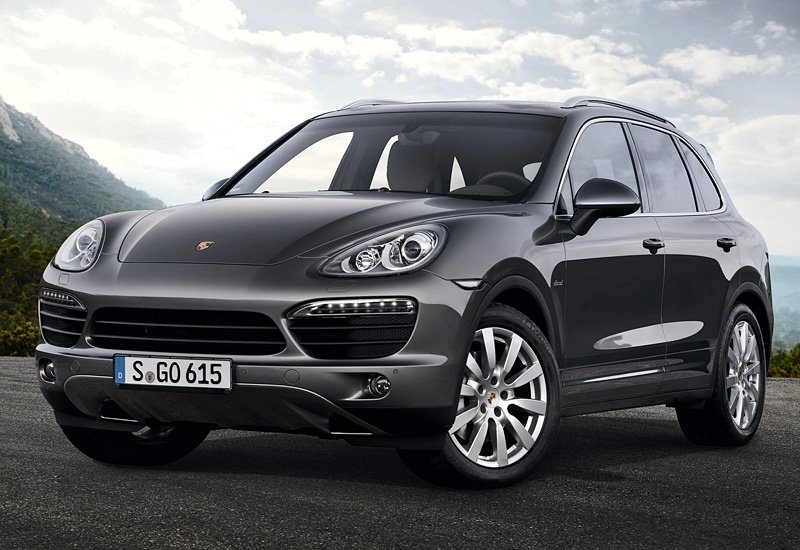 2012 Porsche Cayenne S Diesel