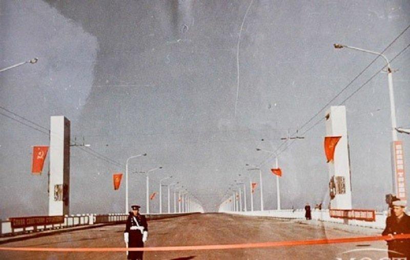 Новый мост вДнепре нагод частично перекроют
