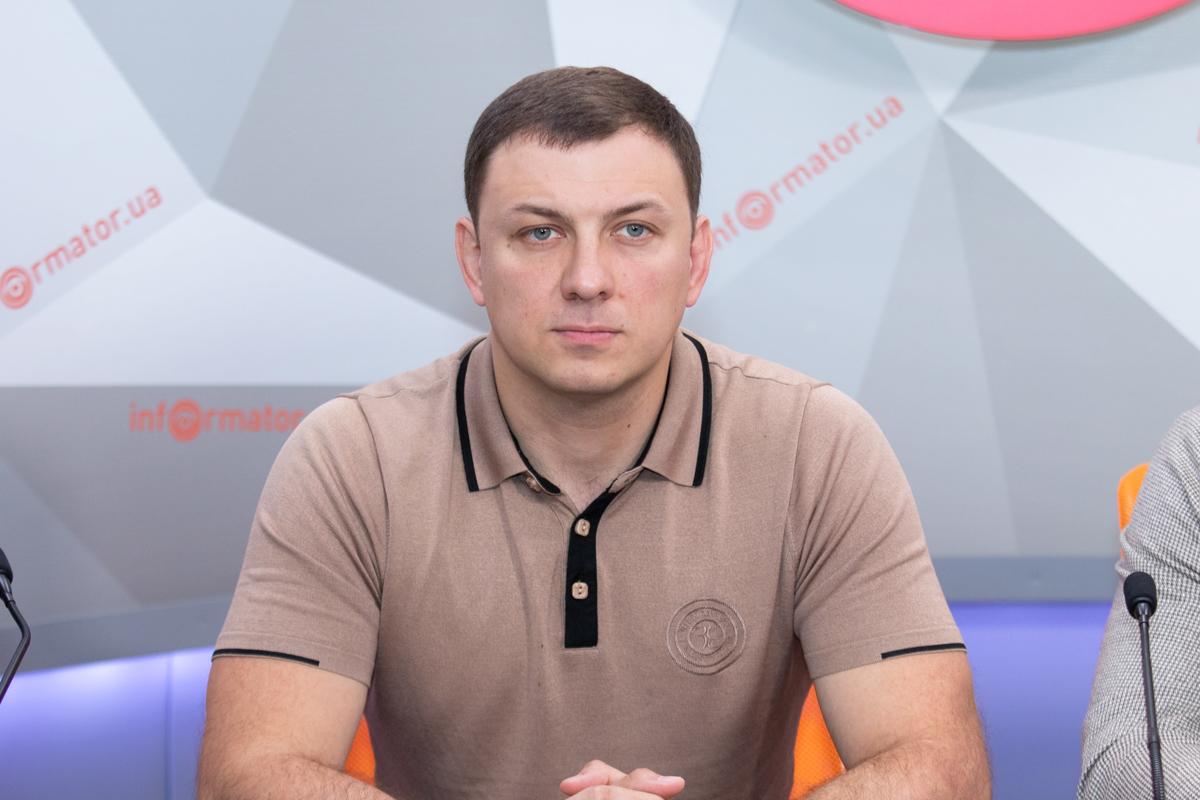 Координатор партии «Голос» в Днепропетровской области Виталий Жеганский