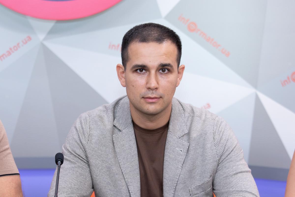 Глава Депутатской фракции в Днепровском горсовете Камиль Примаков