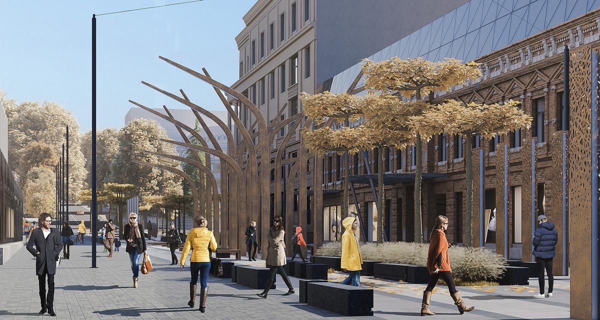 Исторические здания на этой улице тоже планируют реконструировать
