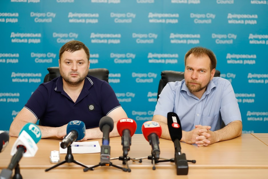 Михаил Лысенко и Дмитрий Волик