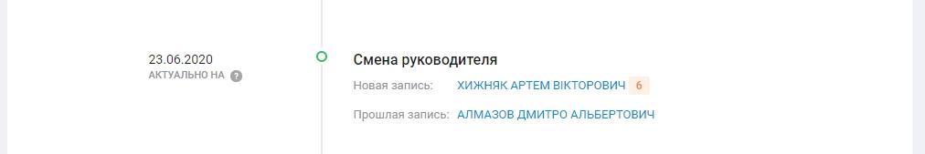 """Смена руководителя ТОВ """"АВТОМАГІСТРАЛЬ-СХІД"""""""