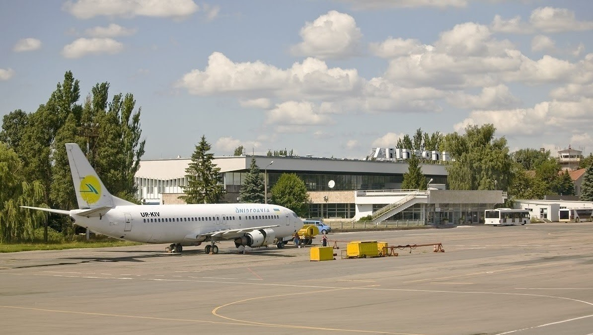 К сожалению аэропортом в Днепре практически не занимаются