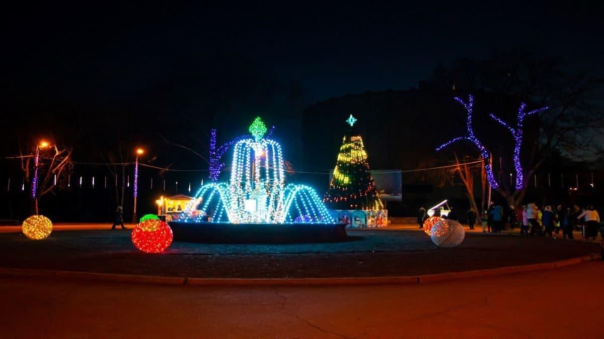 Парки украсят в период с 14 по 22 декабря