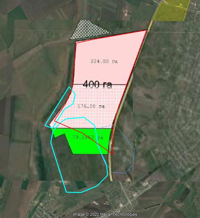 Карта со всеми изменениями на территории Подгороднянского района