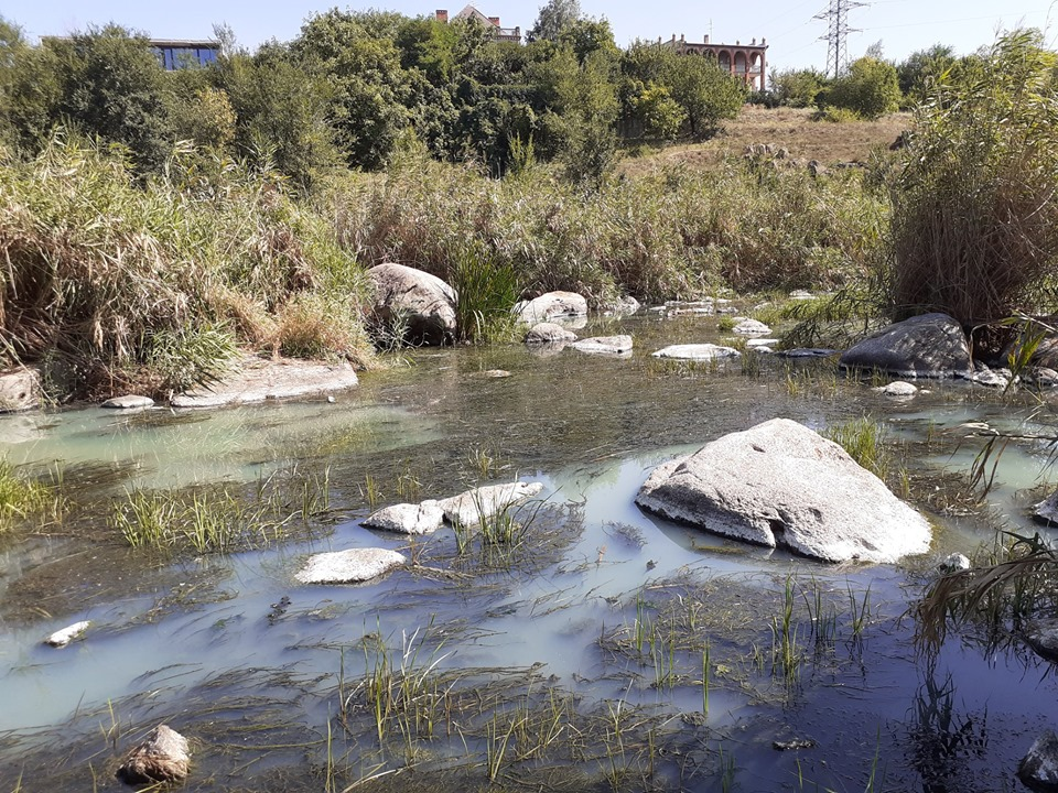 Без изменений за четыре года остались показатели выплат эконалогов зазагрязнение водных объектов,ежегодно это 0,1 млрд грн
