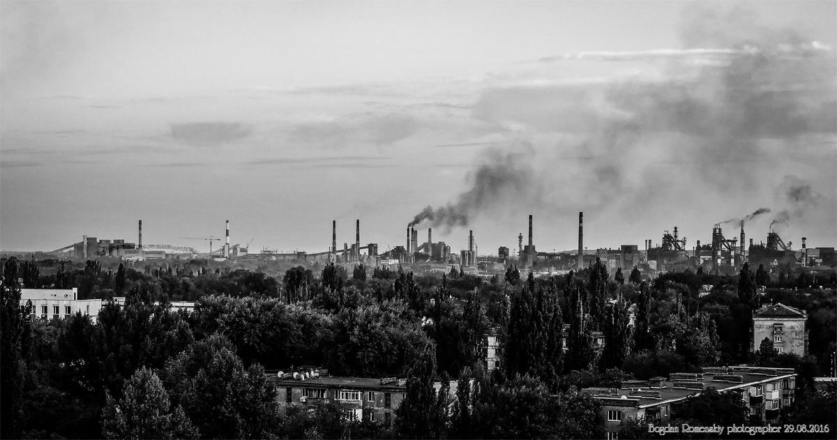АрселорМиттал Кривой Рог: промзона в центре города