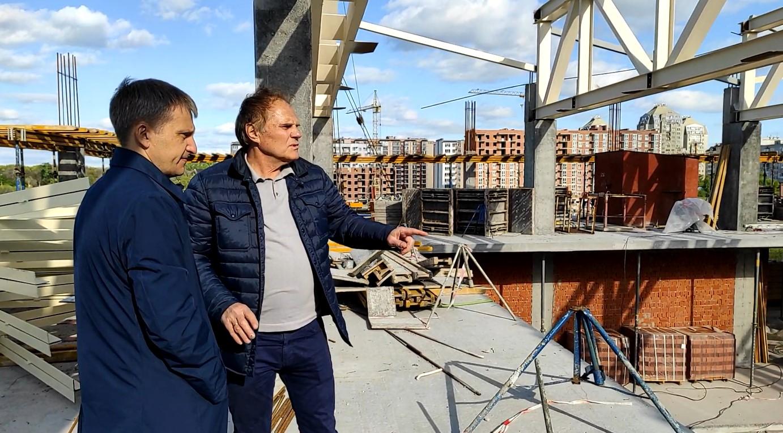 Строительство бассейна в Слобожанском